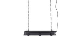Hanglamp industrieel 70x14x10 cm