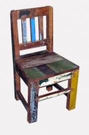 Kinderstoel van sloophout