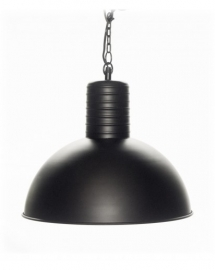 Hanglamp 40 cm,  Dome black