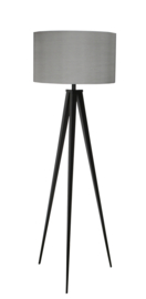 Tripod Floor Lamp Black/Grey
