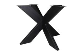 Onderstel - 3D-Model - 90x90 cm - gepoedercoat zwart metaal
