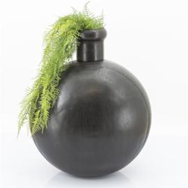 IJzeren glad Zwarte Pot XL