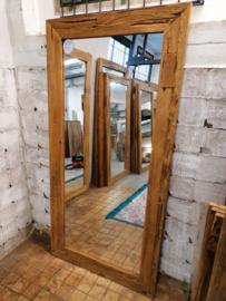 Spiegel erosie teak  180x90 cm