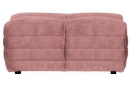 Hocker Bag fluweel roze