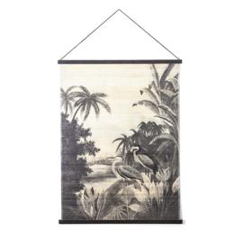 Wanddecoratie Miyagi jungle - large