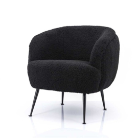 Fauteuil Babe black