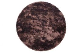 Carpet Praline Coffee rond 200cm