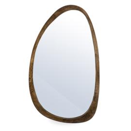Spiegel Plecto  - bruin