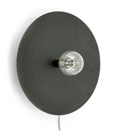 Wandlamp Horus large - zwart
