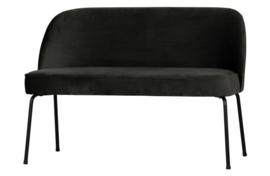 Eetkamerbank Vogue  fluweel zwart