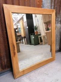 Spiegel teak 90x80 cm