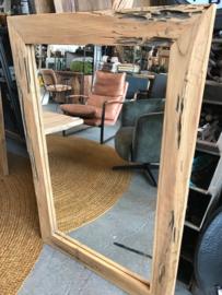 Spiegel Teak 120x80 cm