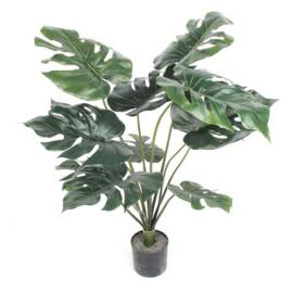 Fake plant Monstera 15x15x32 cm