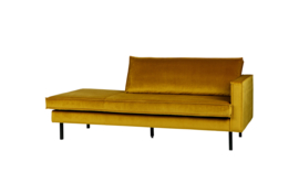 Rodeo daybed right velvet oker