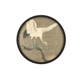 Wanddecorate Morita crane