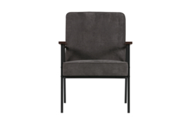 Fauteuil Sally antraciet