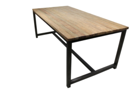 Metalen tafel frame vanaf 200x100  5 of 6 dik