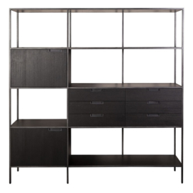 Kabinet Madison dark 180 cm