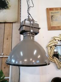 Hanglamp XL industrieel grijs