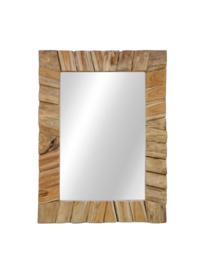 Spiegel  drifthout 80x60 cm