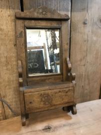 Spiegelkastje met lade 40x20 cm