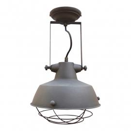 Plafond/Wandlamp urban grijs