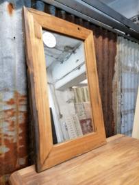 Spiegel teak 80x50 cm