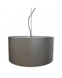 Hanglamp 60 cm, metalen kap