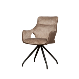 Nola armchair Brown