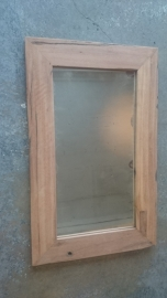 spiegel teak 80x50