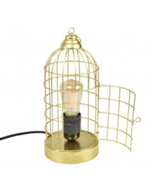 Tafellamp Birdy messing
