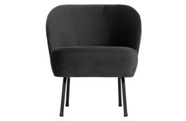 Fauteuil Vogue zwart velvet