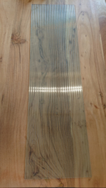 Ruit voor Ventana showcase 105x29,5cm