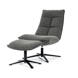 Fauteuil Marcus antraciet