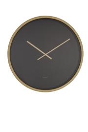 Time Bandit Clock Black/Brass