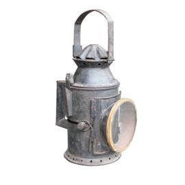 oude Seinlamp ijzer