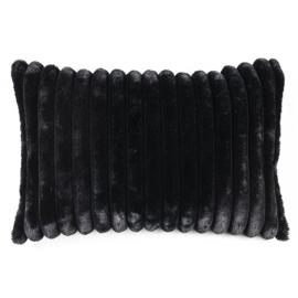 Kussen Wuzzy  40x60 cm - zwart