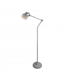 Vloerlamp ind. vintage grey