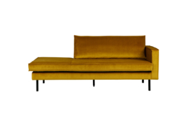 Daybed Rodeo right velvet oker