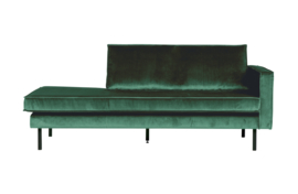 Daybed Rodeo right velvet bosgroen