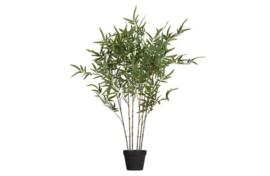 Bamboe Kunstplant groen 100 cm