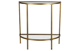 Goddes sidetable antique brass