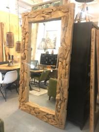 Spiegel  root  220x120 cm