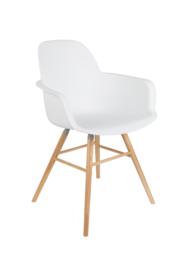 Albert Kuip Armchair White