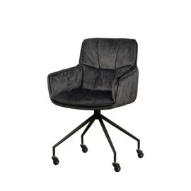 Saronno armchair  dark grey