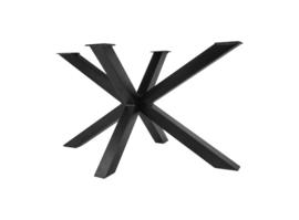 Onderstel Oakland - 3D-Model - 130x90 cm - gepoedercoat zwart ijzer