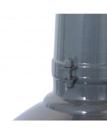 40cm hanglamp urban grey