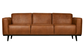 Bank 3-zits Statement 230 cm eco leer cognac
