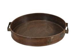 IJzeren dienblad (oude ovenbakplaat) l