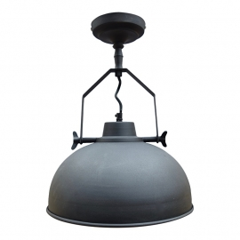 Plafond/Wandlamp urban zwart